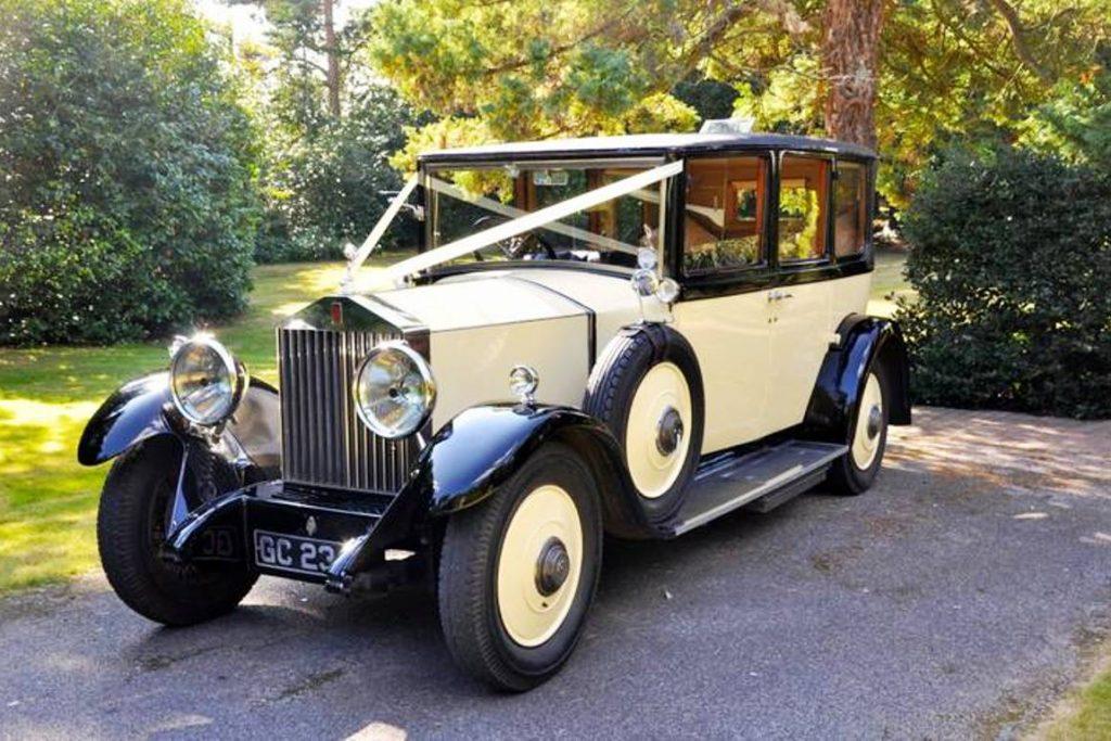 1929 Rolls Royce Barker Limousine Wedding Car