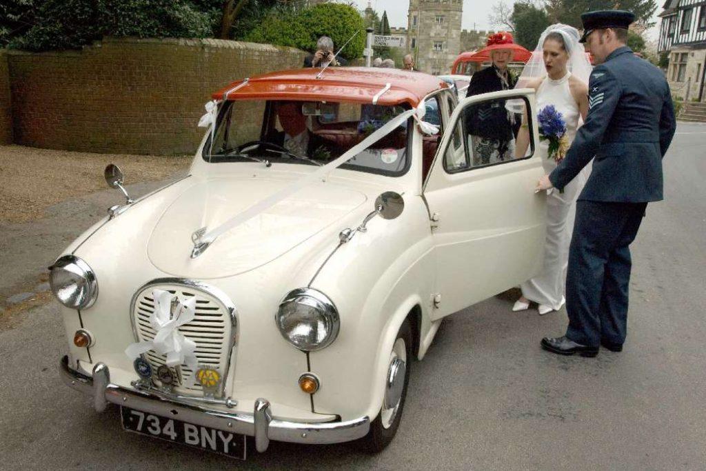 1959 Austin A35 Delux Wedding Car