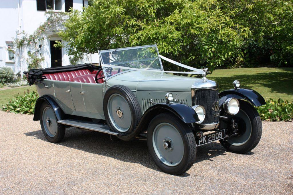 1928 AC Acedes Tourer Wedding Car