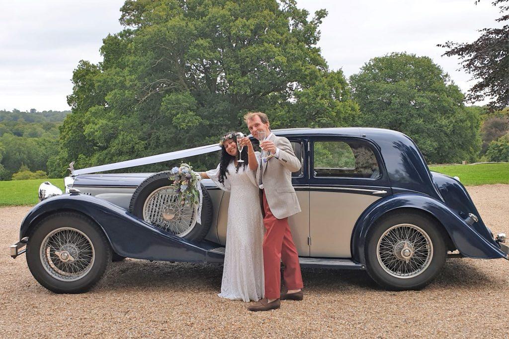 1937 Alvis Speed 25 Wedding Car