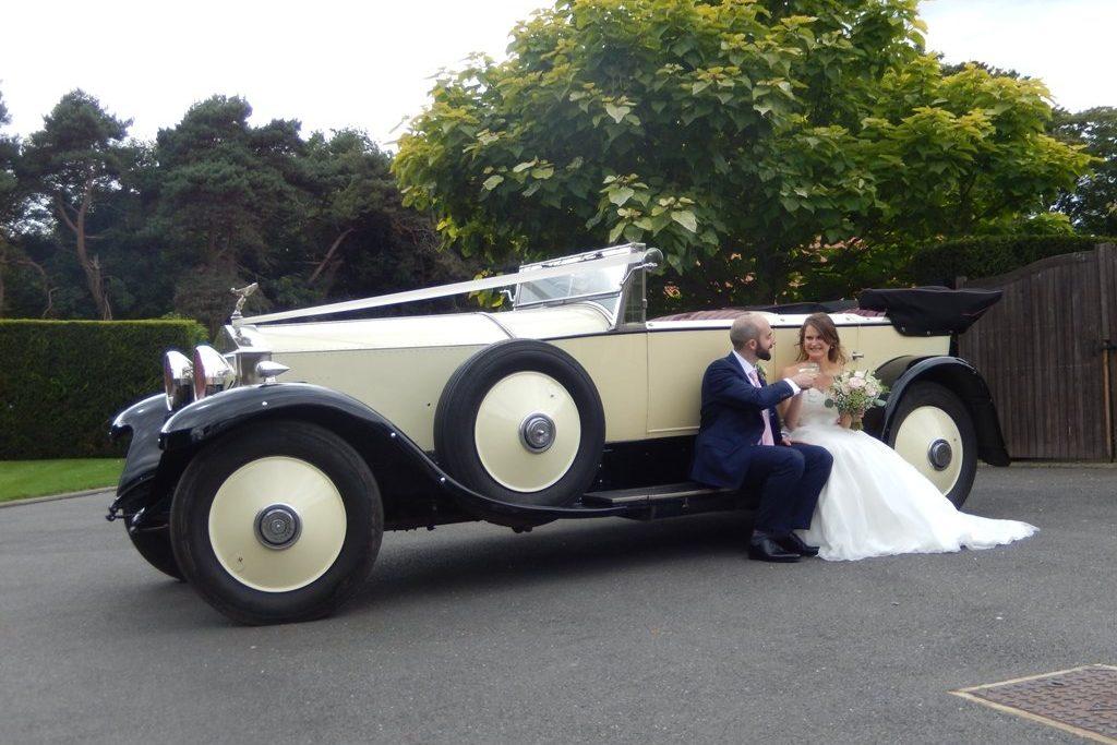 1927 Rolls Royce Phantom I Dual Cowl Torpedo Wedding Car