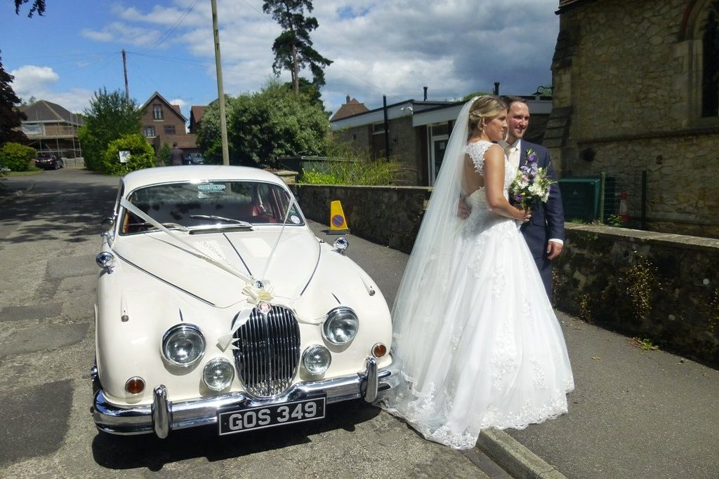 1963 Jaguar MKII Wedding Car