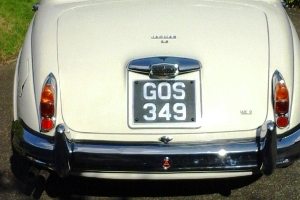 1963 Jaguar MKII