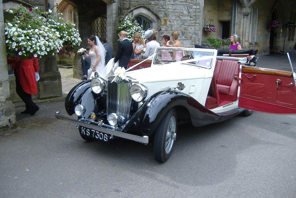 1936 MGSA Tickford Wedding Car