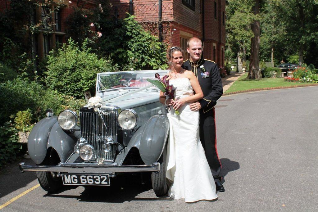 1939 MGSA Tickford Wedding Car