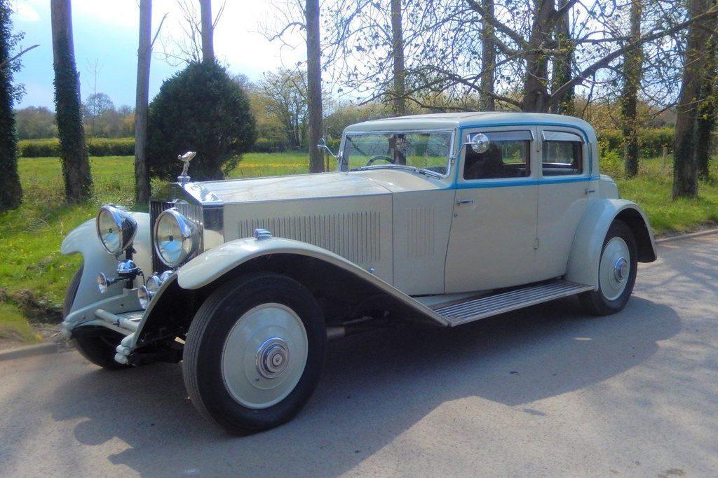 1931 Rolls Royce Phantom II Continental Wedding Car
