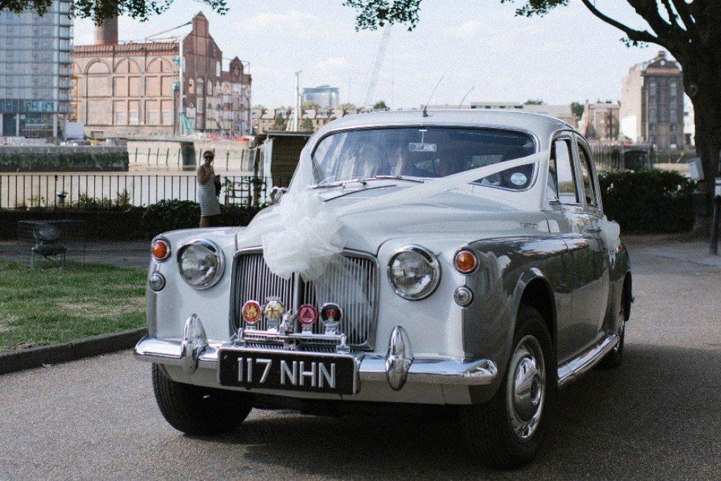 1960 Rover 100 Wedding Car