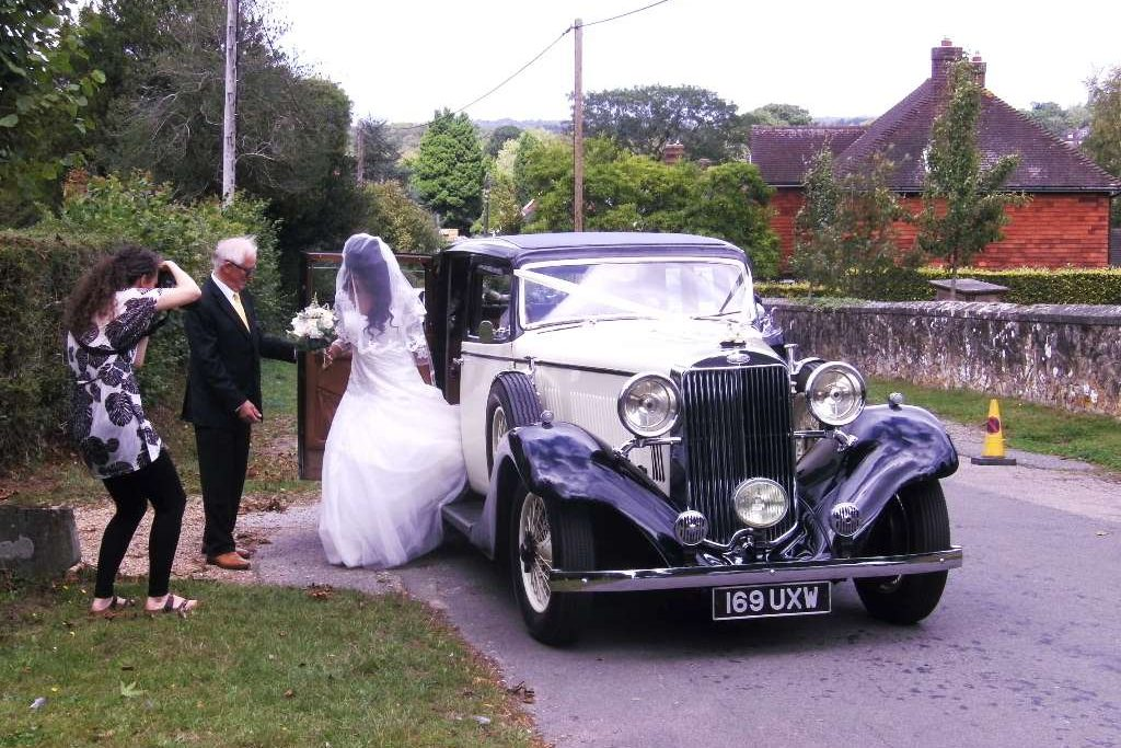 1934 Sunbeam 25 Wedding Car