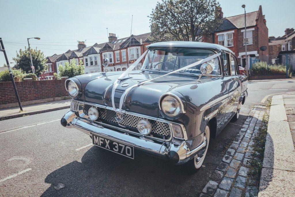 1958 Vauxhall Victor Super Wedding Car